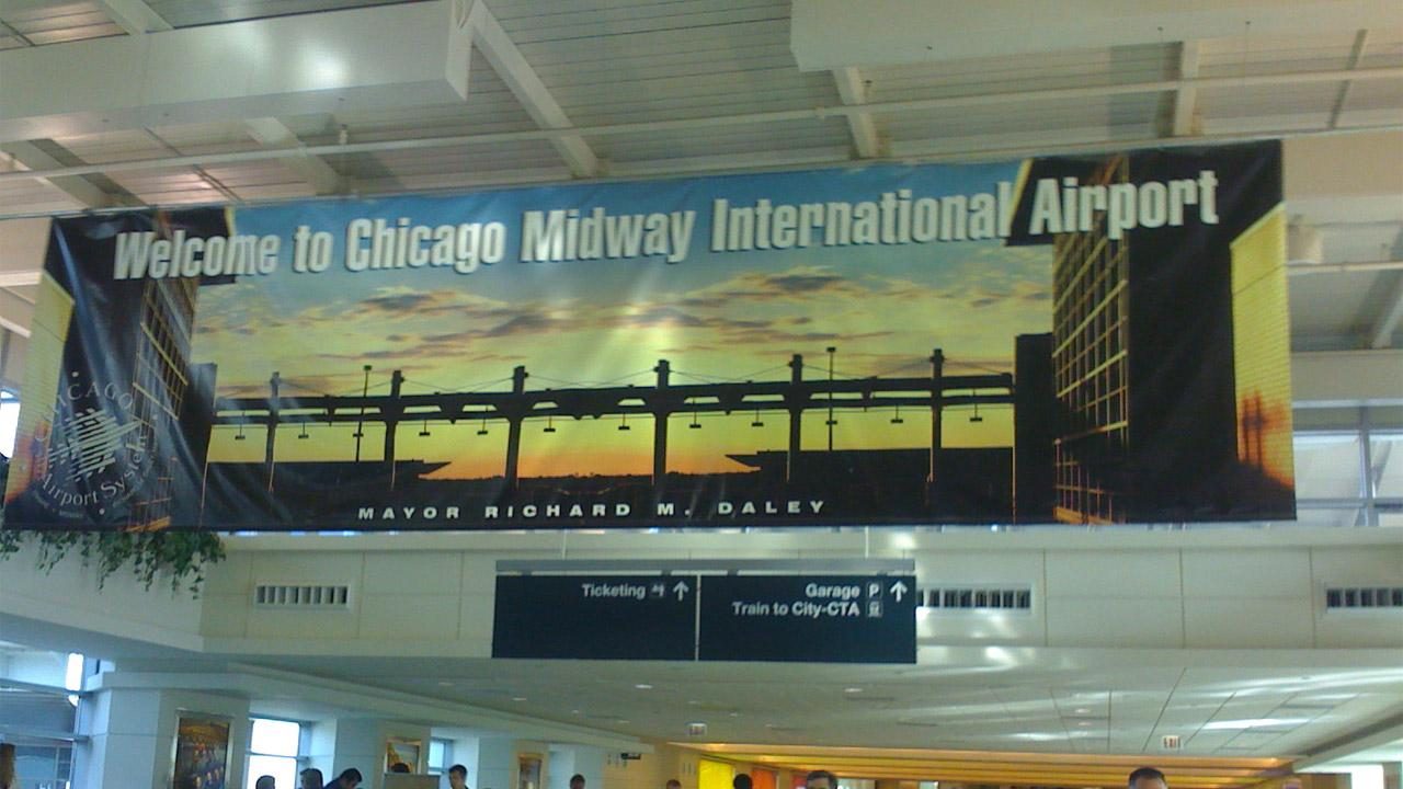 Chicago Midway, IL (MDW) ranked No. 9 on Cheapflights.coms 2012 list of most affordable airports. <span class=meta>(Flickr&#47;niiicedave)</span>