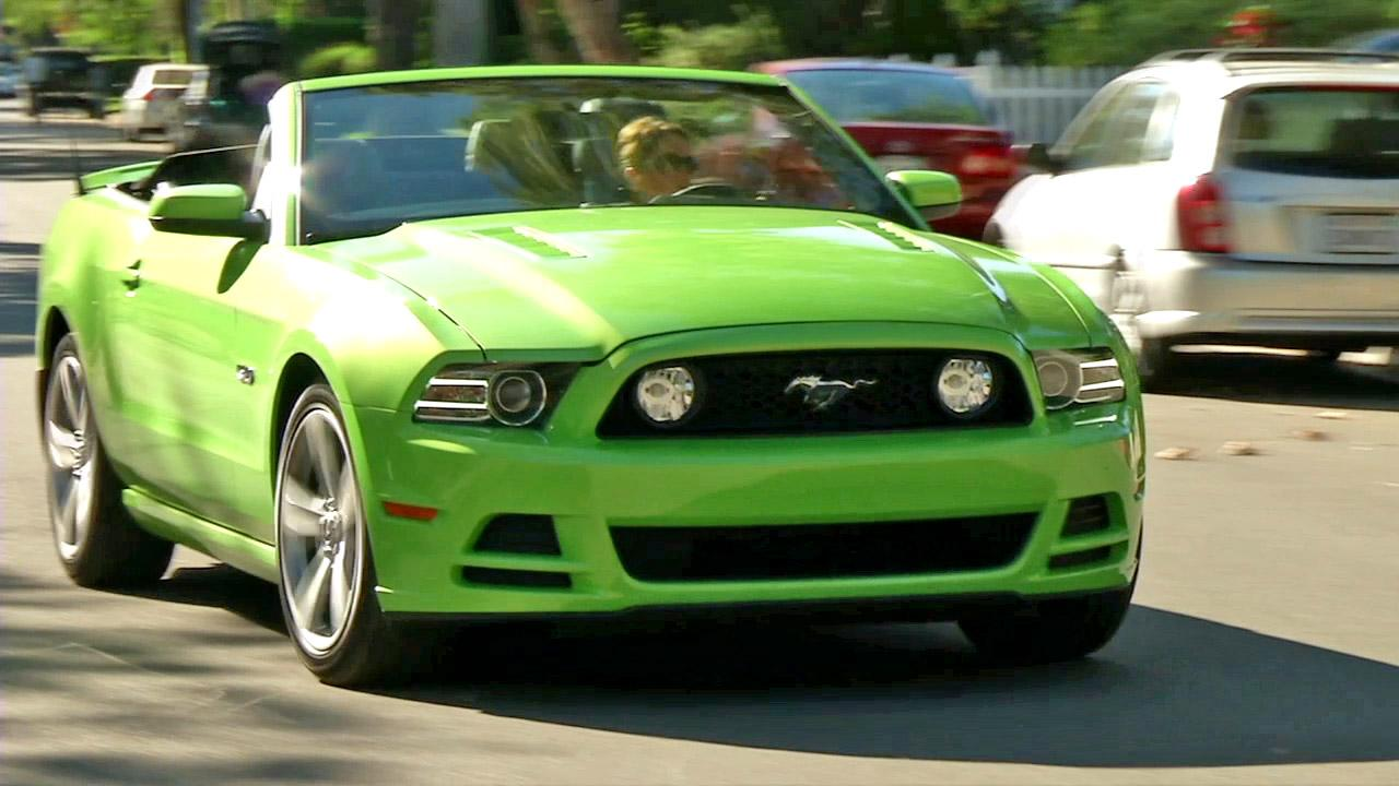 The 2013 Ford Mustang.
