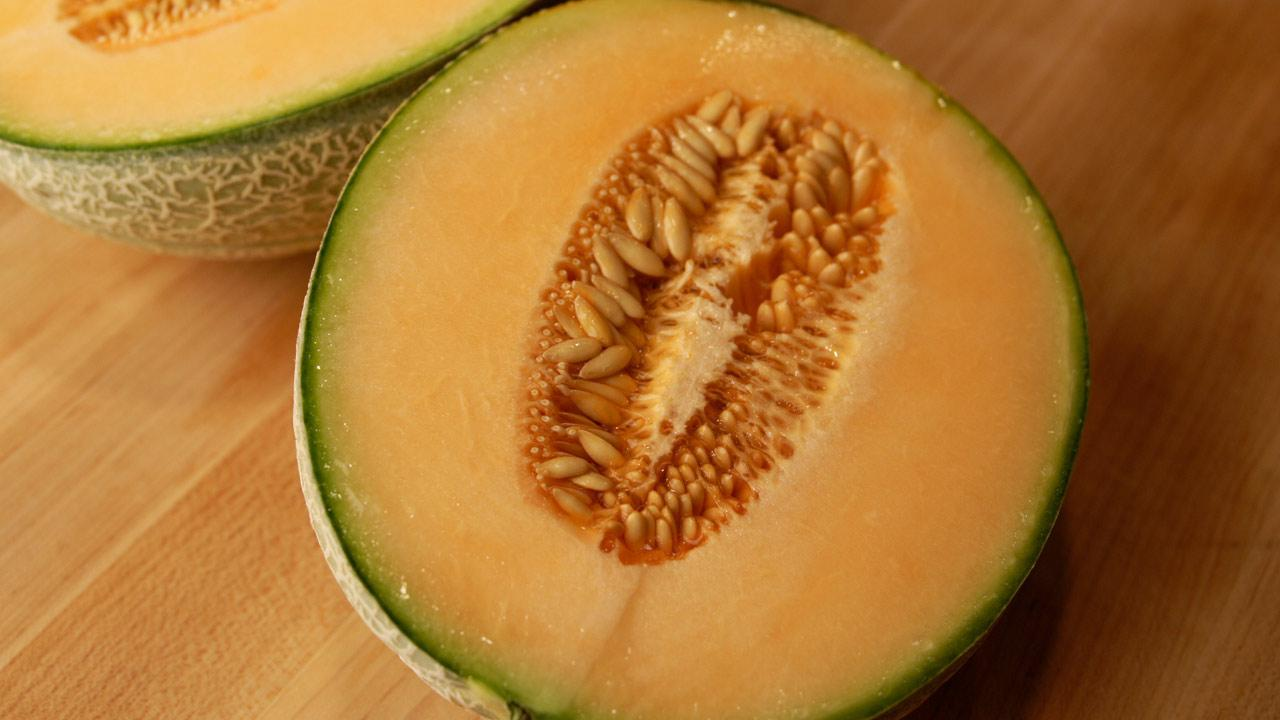 Cantaloupe is seen in this undated file photo.