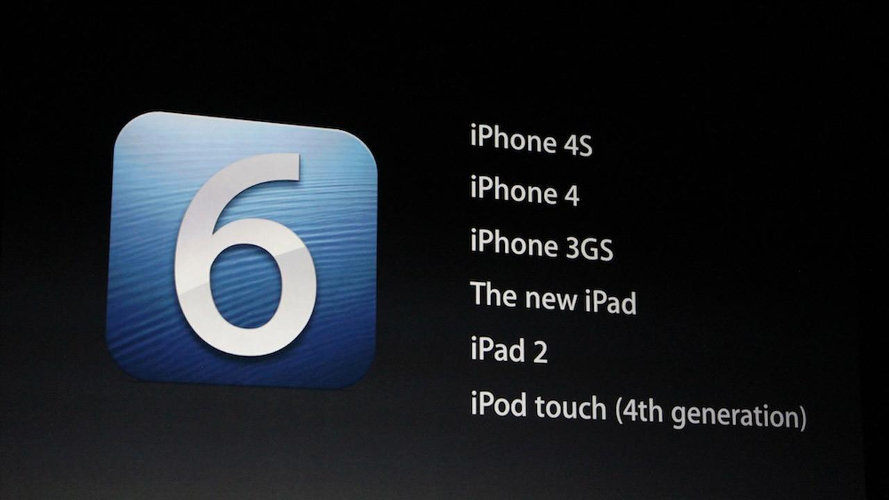 The iPhone 5 will run on iOS 6 software, which is set to be released Sept. 19, 2012. <span class=meta>(Joanna Stern)</span>