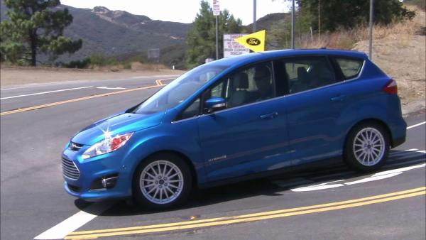 Ford offers competitive new hybrid C-Max car