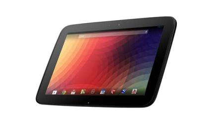 The new Google Nexus 10 tablet
