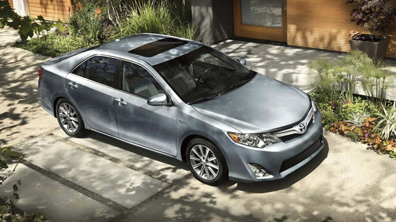 The Toyota Camry Hybrid XLE is the best value among family sedans, according to Consumer Reports magazine. <span class=meta>(Toyota.com)</span>