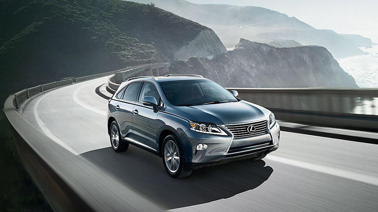 Lexus RX350 is the best value among large or luxury SUVs, according to Consumer Reports magazine. <span class=meta>(Lexus.com)</span>