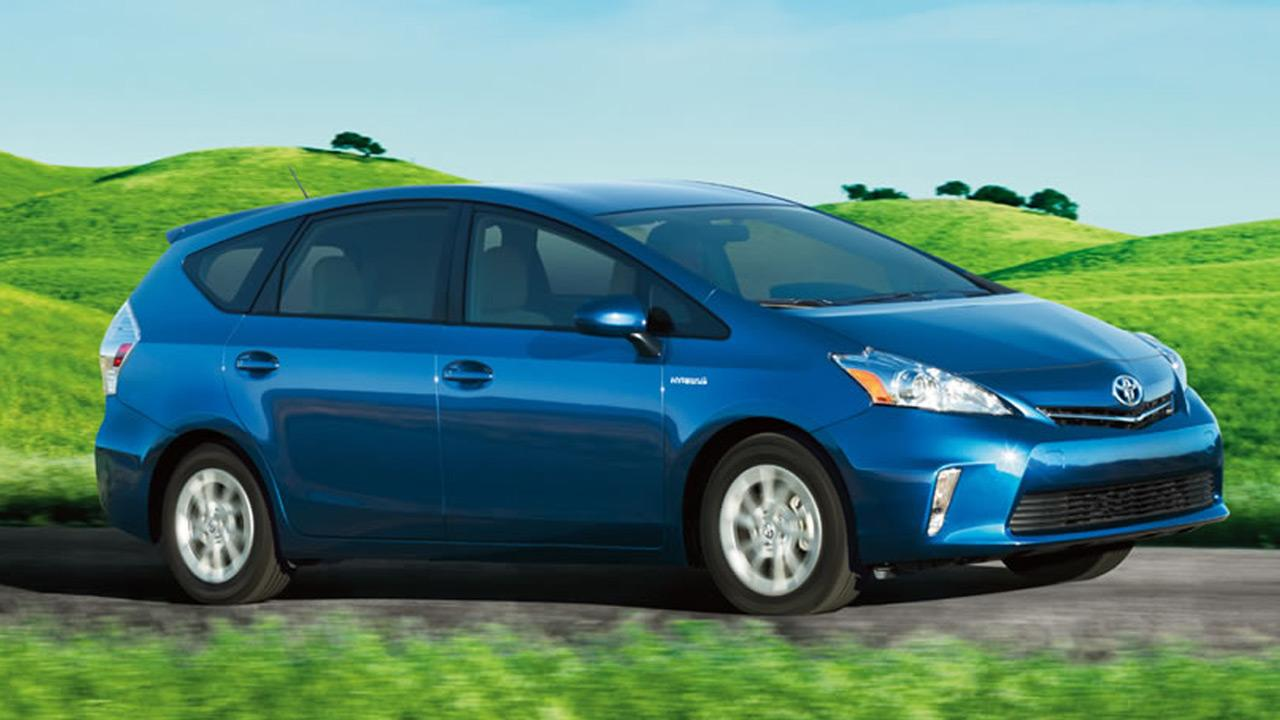 The Toyota Prius V is the best value among minivans or wagons, according to Consumer Reports magazine. <span class=meta>(Toyota.com)</span>