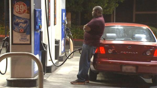 LA Co. has highest gas prices in CA, AAA says