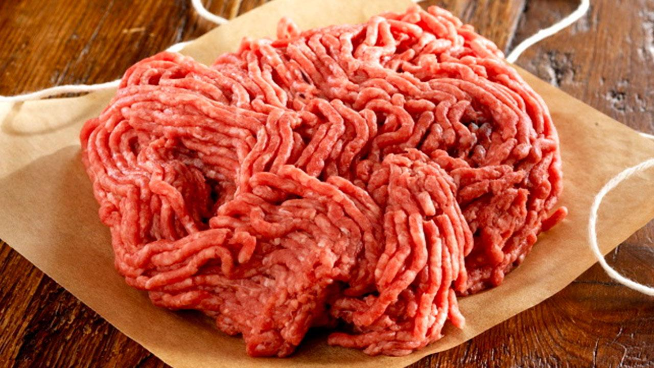 Ground beef is shown in this undated file image.