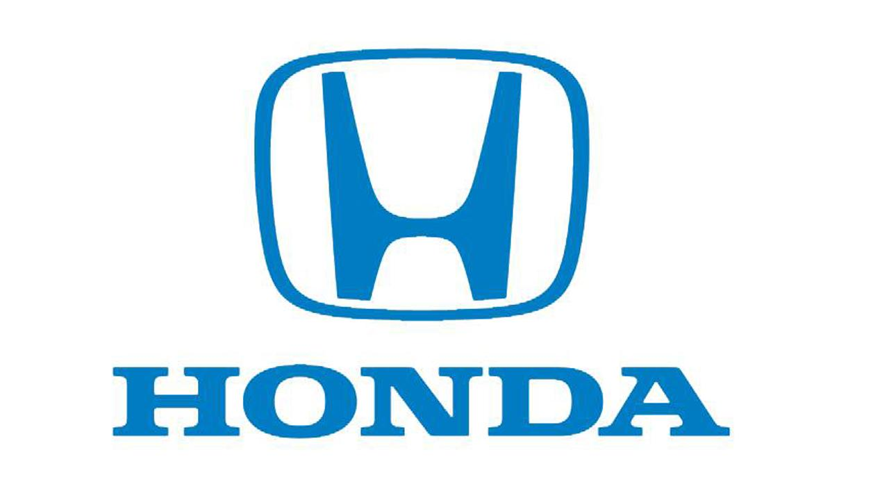 A logo for Honda is seen.