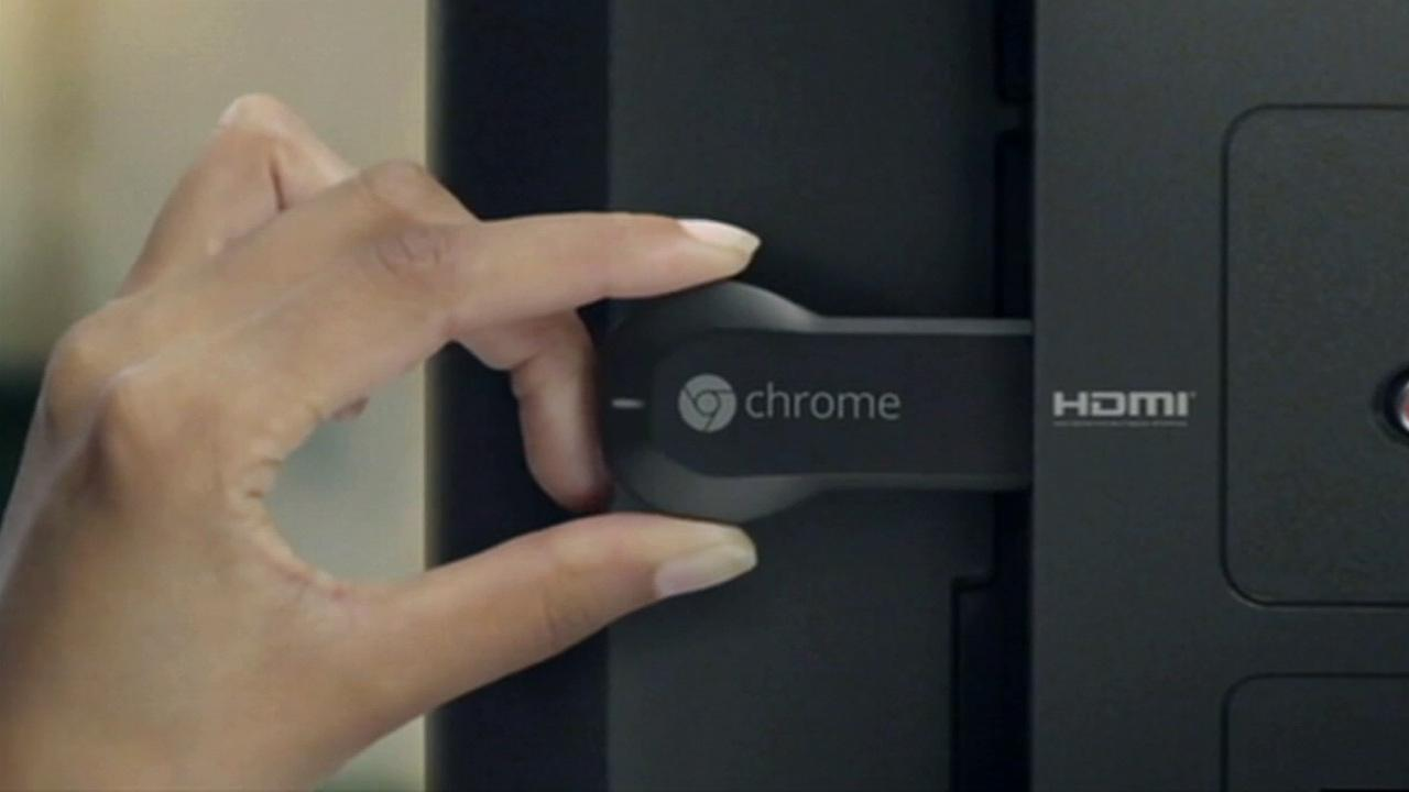 For those who cant afford a $9,000 TV, how about a $35 device that turns any TV into a smart TV? The Google Chromecast is a thumb-sized device that plugs into an HDMI input on your TV and allows you to stream video, audio and even web content to your TV.