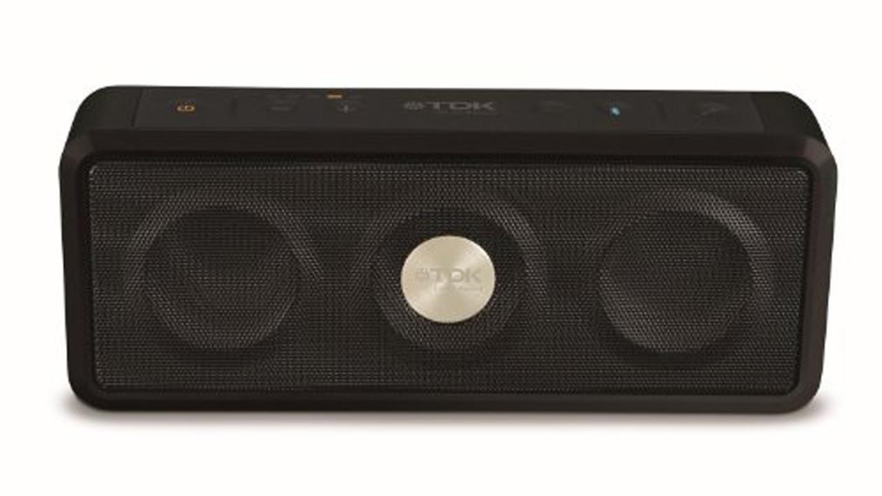 The portable speaker by TDK Life on Record sells for $150. Consumer Reports says it has great sound for a wireless device that connects via Bluetooth or a wire. <span class=meta>(Amazon.com)</span>