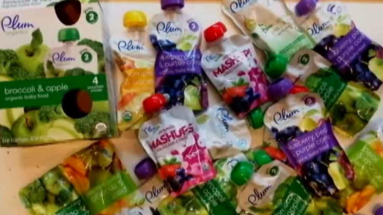 Plum Organics is recalling some baby food products due to a manufacturing defect that may cause packages to swell or spoil.