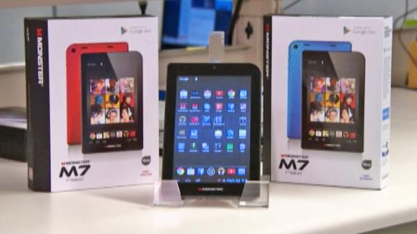 Monster M7 tablets - Consumer Reports warning