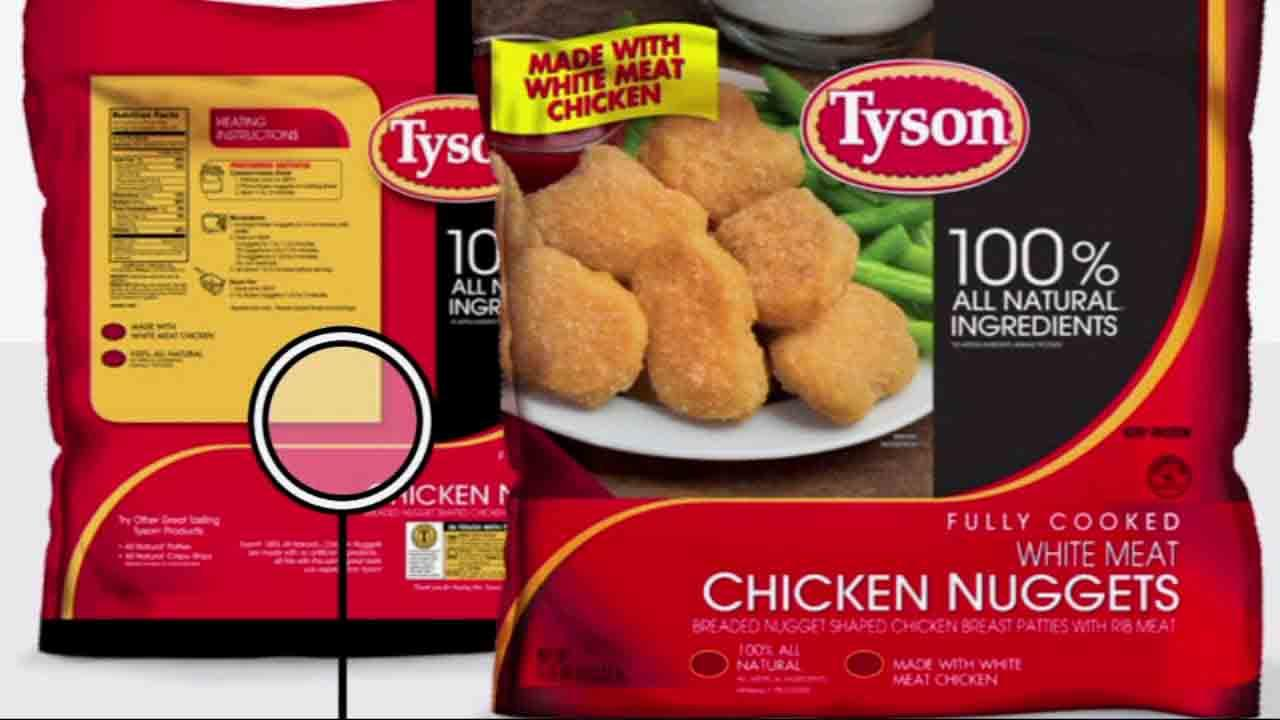 Tyson is recalling more than 75,000 pounds of chicken nuggets, including Tyson Fully Cooked White Meat Chicken Nuggets, after customers reported finding small pieces of plastic.