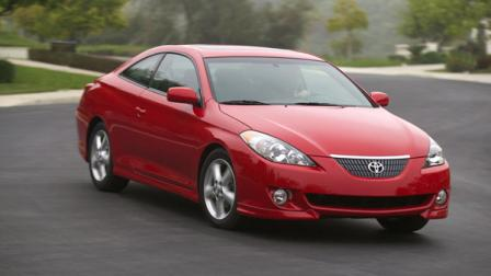 The 2004 Toyota Camry Solara is shown in this undate promotional photo.