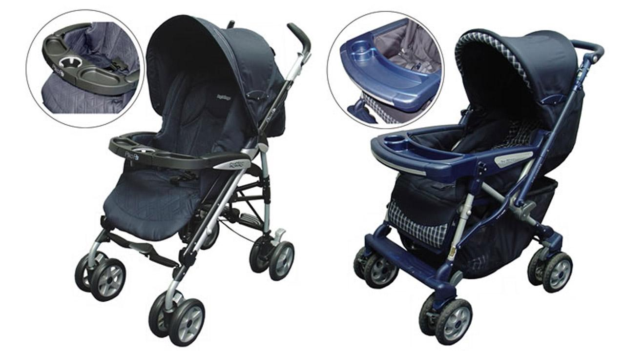 Peg-Perego is recalling 223,000 strollers because it says children can become trapped and strangled between the trays and seats. The recall includes the Venezia and Pliko P3 stroller models made between January 2004 and September 2007.