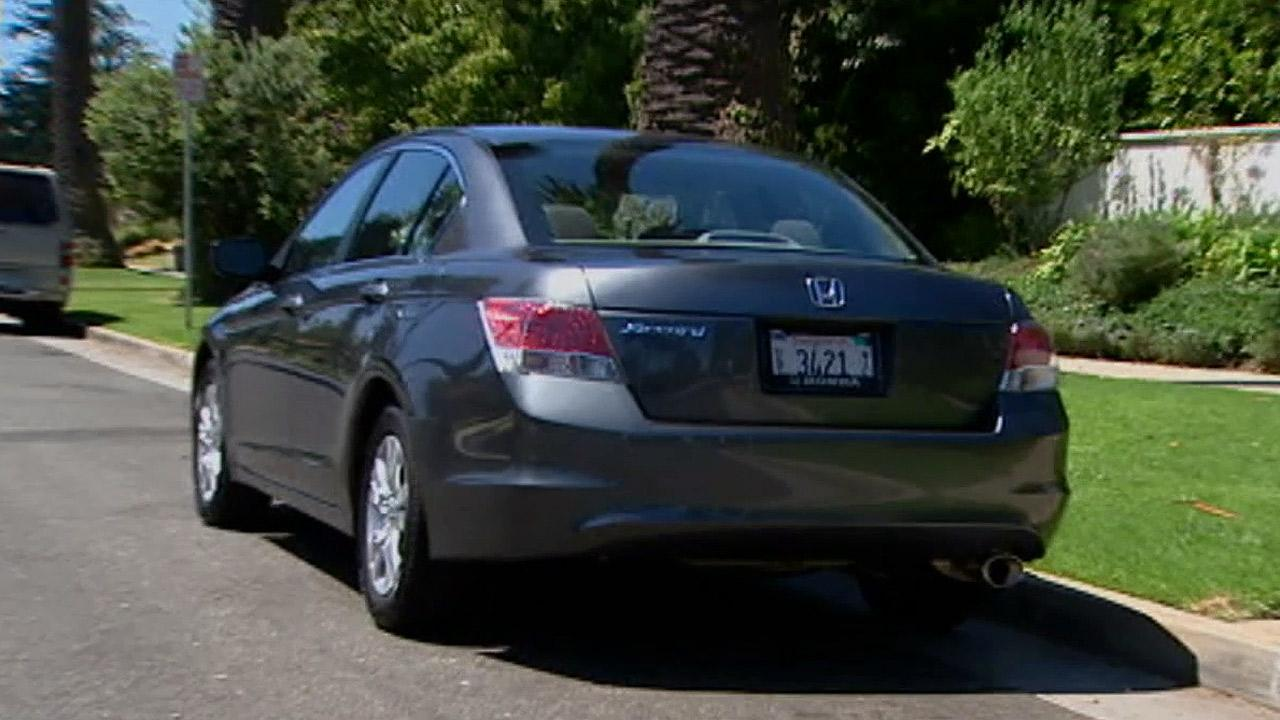 A Honda Accord is seen in this undated file photo.