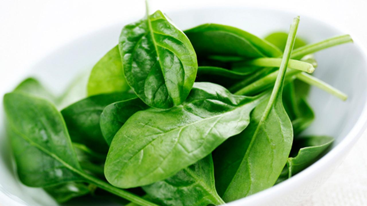 Spinach is shown in this file image provided by Taylor Farms.