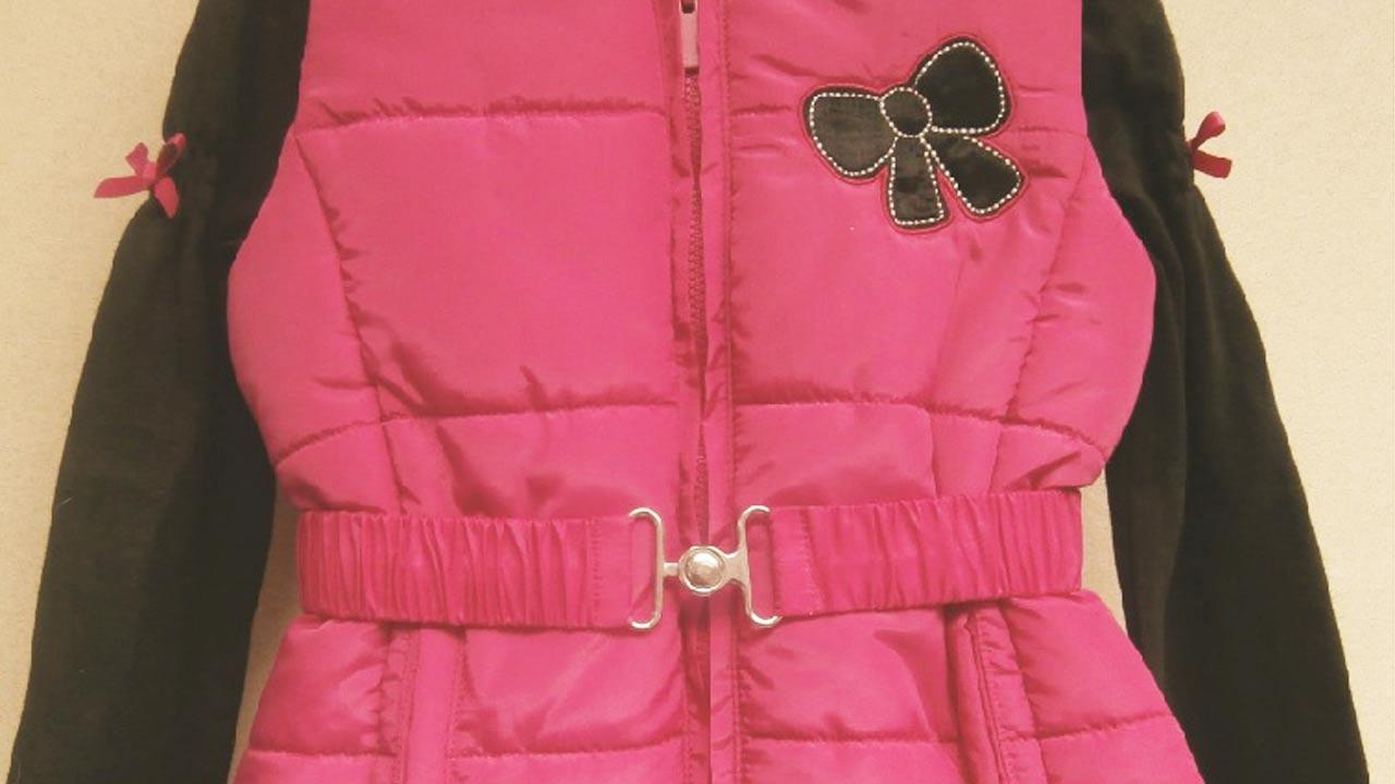 The U.S. Consumer Product Safety Commission has issued a recall for Young Hearts brand three-piece clothing sets for girls due to an entanglement hazard from a waist belt.