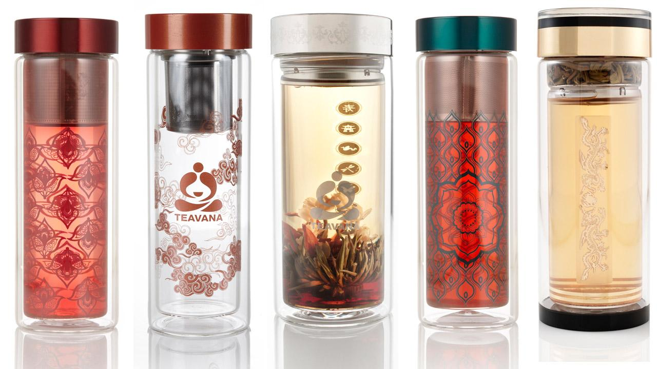 Teavana glass tea tumblers, shown in these photos from the U.S. Consumer Product Safety Commission, were recalled because they can break or shatter unexpectedly.