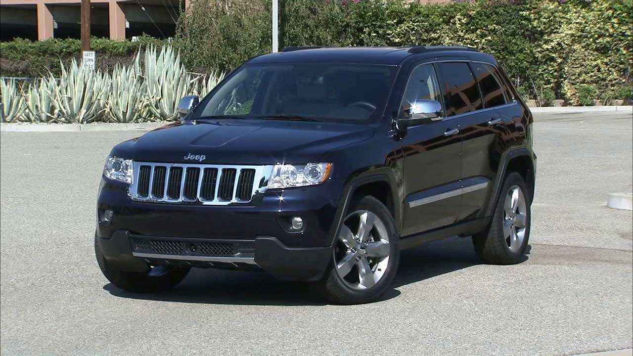 The Chrysler Jeep Grand Cherokee is seen in this undated file photo.