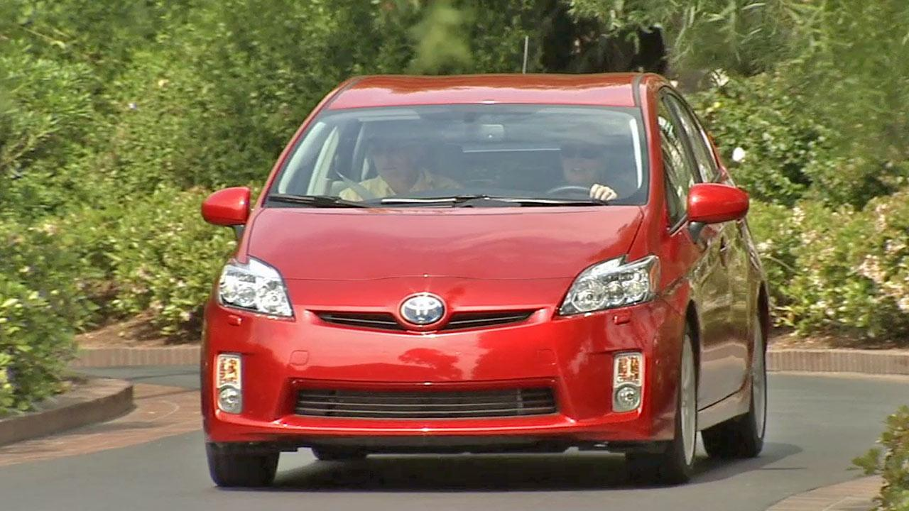 A Toyota Prius is shown in this undated file photo.