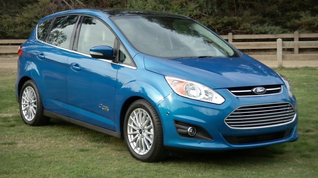 A Ford C-Max Hybrid is seen in this undated file photo.