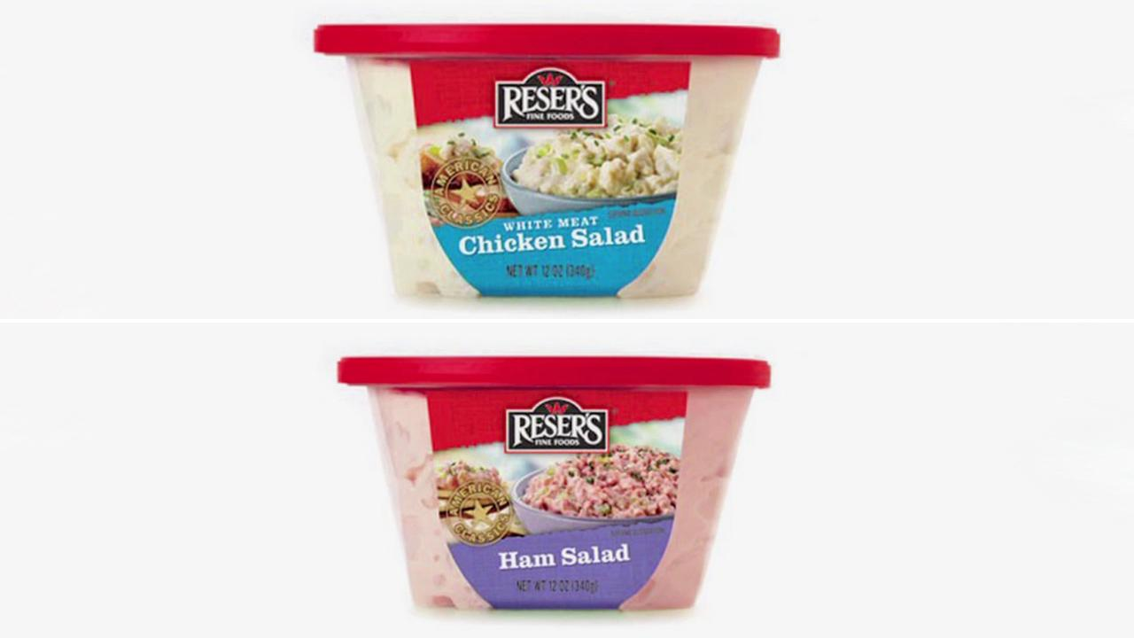 Resers Fine Foods recalled a slew of pre-packaged products due to concerns they may be tainted with listeria.