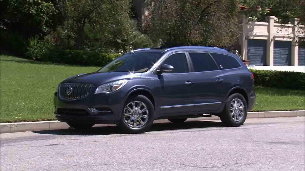 The 2014 Buick Enclave is seen in this undated file photo.
