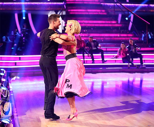 James Maslow and Peta Murgatroyd perform the Quickstep on week 6 of &#39;Dancing With The Stars&#39; on Monday, April 21, 2014. They received 35 out of 40 points from the judges.  <span class=meta>(ABC &#47; Adam Taylor)</span>