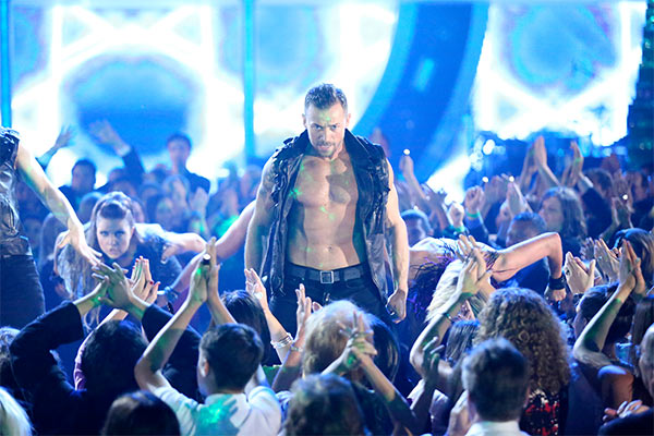The &#39;Macy&#39;s Stars of Dance&#39; returned for the second time during season 18 on week 6 on Monday, April 21, 2014, with creative oversight by &#39;Dancing With The Stars&#39; pro Derek Hough.  <span class=meta>(ABC &#47; Adam Taylor)</span>