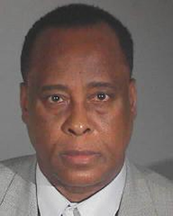 Conrad Murray is seen in this mugshot provided by the Los Angeles County Sheriff's Department.