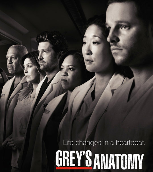 Still image of the cast from 'Grey's Anatomy.'