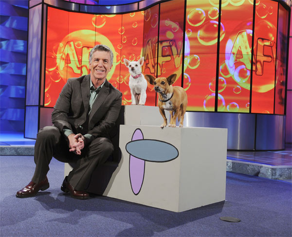 Host Tom Bergeron is a still from 'America's...