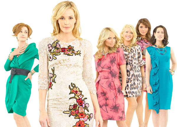 &#39;GCB&#39; &#40;new drama series for midseason, premieres Sunday, March 4&#41;: The soap returns to Dallas in this wicked new drama that shows that you can go home again... but only if you&#39;re ready to face the sins of your past.  When the ultimate high school mean girl returns home in disgrace after her marriage ends in scandal, she is reacquainted with her old classmates.  Will they welcome her with open arms or seek revenge?   &#39;GCB&#39; stars Leslie Bibb &#40;&#39;Iron Man&#39;&#41; as Amanda Vaughn, Kristin Chenoweth &#40;&#39;Pushing Daisies&#39;&#41; as Carlene Cockburn, Annie Potts &#40;&#39;Law and Order: Special Victims Unit,&#39; &#39;Joan of Arcadia&#39;&#41; as Gigi Stopper, Jennifer Aspen &#40;&#39;Rodney&#39;&#41; as Sharon Peacham, Miriam Shor &#40;&#39;Swingtown,&#39; &#39;Damages&#39;&#41; as Cricket Caruth-Reilly, Marisol Nichols &#40;&#39;24&#39;&#41; as Heather Cruz, Brad Beyer &#40;&#39;Jericho&#39;&#41; as Zack Peacham, Mark Deklin &#40;&#39;Lone Star&#39;&#41; as Blake Reilly and David James Elliott &#40;&#39;JAG&#39;&#41; as Ripp Cockburn. &#39;GCB&#39; is executive-produced by Darren Star &#40;&#39;Sex and the City&#39;&#41;, Robert Harling &#40;&#39;Steel Magnolias&#39;&#41; and Aaron Kaplan. The pilot is written by Robert Harling and executive-produced and directed by Alan Poul. &#39;GCB&#39; is produced by ABC Studios.  <span class=meta>(ABC Photo &#47; Bob D&#39;Amico)</span>