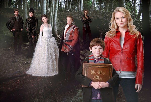 "<div class=""meta image-caption""><div class=""origin-logo origin-image ""><span></span></div><span class=""caption-text"">The new fantasy series 'Once Upon a Time,' starring Ginnifer Goodwin and Jennifer Morrison, will debut on Oct. 23, 2011 and will air on Sundays from 8 to 9 p.m.  From the inventive minds of 'Lost' executive producers Adam Horowitz and Edward Kitsis comes a bold new imagining of the world, where fairy tales and the modern-day are about to collide. The show is based on a 10-year-old boy who believes his mother is Snow White and Prince Charming's missing daughter. According to his book of fairytales, they sent her away to protect her from the Evil Queen's curse, which trapped the fairytale world frozen in time and brought them into our modern world.  (ABC Photo / Craig Sjodin)</span></div>"