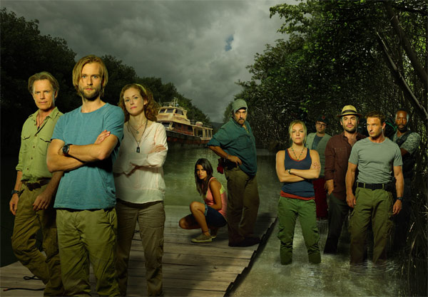 "<div class=""meta ""><span class=""caption-text "">'The River' (new supernatural series for midseason, no premiere date announced): 'The River' follows the story of wildlife expert and TV personality Emmet Cole. Emmet set course around the world with his wife, Tess, and son, Lincoln, while filming what would become one of the most popular shows in television. After he goes missing deep in the Amazon, his family, friends and crew set out on a mysterious and deadly journey to find him.   'The River' stars Bruce Greenwood ('Star Trek') as Emmet Cole, Joe Anderson ('The Twilight Saga: Breaking Dawn Parts 1 and 2') as Lincoln Cole, Paul Blackthorne ('Lipstick Jungle') as Clark, Paulina Gaitan as Jahel, Leslie Hope ('24') as Tess Cole, Eloise Mumford ('Lone Star') as Lena, Shaun Parkes ('The Mummy Returns') as Adjay, Thomas Kretschmann ('King Kong') as Captain Kurt Brynildson and Daniel Zacapa ('Resurrection Blvd.') as Emilio. 'The River,' from Amblin's Steven Spielberg, Daryl Frank and Justin Falvey, showrunner/executive producer Michael Green ('Heroes,' 'Kings'), is also executive-produced by Oren Peli (creator of 'Paranormal Activity'), Zack Estrin, Jason Blum and Steven Schneider. Teleplay by Michael R. Perry and Michael Green, story by Oren Peli and Michael R. Perry and Michael Green. The pilot is directed by Jaume Collet-Serra and produced by ABC Studios. (ABC Photo / Bob D'Amico)</span></div>"
