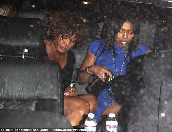 last days of whitney houston dead