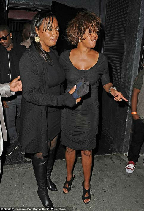 Singer Whitney Houston is seen attending a Grammy Awards event at Tru Hollywood Nightclub in Hollywood on Thursday, Feb. 9, 2012.  Houston, who reigned as the queen of pop music in the &#39;80s and early 90s, was found dead in a Beverly Hills hotel two days later. <span class=meta>(PacificCoastNews.com)</span>