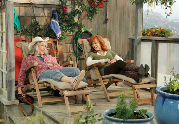 &#39;Malibu Country&#39; &#40;Fridays at 8:30 p.m., premieres in November&#41;: Reba Gallagher &#40;Reba&#41; dreamt of becoming a country star, but put her career on hold to raise a family. So when she discovers that her husband, a country music legend &#40;Jeffrey Nordling&#41;, cheated on her and spent all their money, her world is turned upside down.  With the ink on her divorce barely dry, Reba packs up her mother &#40;Lily Tomlin&#41;, two kids and the U-Haul and heads for sunny Malibu to begin a new chapter. She soon discovers that her relocation from Nashville to Southern California is going to be quite an adjustment: the West Coast seems like the polar opposite of Music City, and Reba feels like an outsider. Still, with the support of her family she sets about finding her voice, jump-starting her music career with the help of her new music agent, Geoffrey &#40;Jai Rodriguez&#41;, and embracing this chance to begin again.  &#34;Malibu Country&#34; stars country music superstar Reba &#40;&#34;Reba,&#34; &#34;Tremors&#34;&#41; as Reba, Sara Rue &#40;&#34;Rules of Engagement,&#34; &#34;Less Than Perfect&#34;&#41; as Kim, Justin Prentice as Cash, Juliette Angelo as June, Jai Rodriguez &#40;&#34;Bones,&#34; &#34;How I Met Your Mother,&#34; one of the original hosts of &#34;Queer Eye for the Straight Guy&#34;&#41; as Geoffrey and Lily Tomlin &#40;&#34;Eastbound and Down,&#34; &#34;Damages,&#34; &#34;Desperate Housewives,&#34; &#34;West Wing,&#34; &#34;Nine to Five,&#34; &#34;All of Me,&#34; &#34;Nashville&#34;&#41; as Lillie May. <span class=meta>(ABC Photo &#47; Edward Herrera)</span>