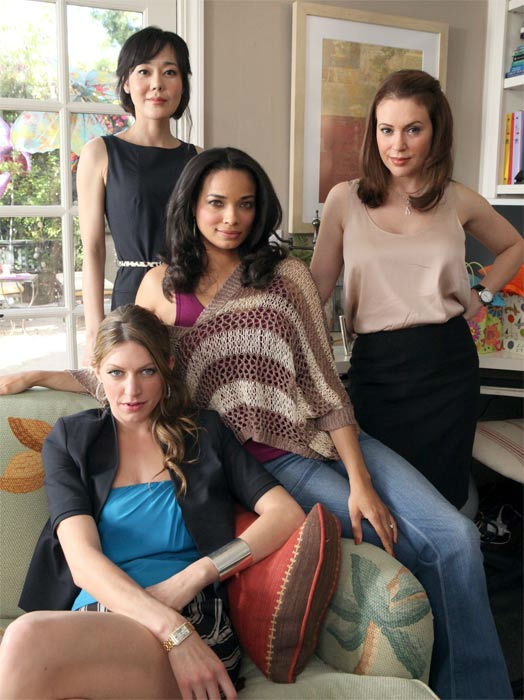 &#39;Mistresses&#39; &#40;No time or start date announced&#41;: A provocative yet sophisticated drama about four women and their love lives, their sex lives, their secrets, their lies, and above all, their friendship.  Savi &#40;Alyssa Milano&#41; is a successful career woman working toward the next phase in her life -- both professional and personal -- simultaneously bucking for partner at her law firm while she and her husband &#40;Brett Tucker&#41; try to start a family. Savi&#39;s free-spirited and capricious baby sister, Josselyn &#40;Jes Macallan&#41;, couldn&#39;t be more different - living single, serial dating and partying, and regularly leaning on her big sister along the way. Their common best friend, April &#40;Rochelle Aytes&#41;, a recent widow and mother of two, is rebuilding her life after tragedy and learning to move forward, with the support and guidance of her closest girlfriends. And friend Karen &#40;Yunjin Kim&#41;, a successful therapist with her own practice, reconnects with the girls after her involvement in a complicated relationship with a patient goes far too deep.  &#34;Mistresses&#34; stars Alyssa Milano &#40;&#34;New Years Eve,&#34; &#34;Romantically Challenged,&#34; &#34;Hall Pass,&#34; &#34;My Name Is Earl,&#34; &#34;Charmed,&#34; &#34;Melrose Place&#34;&#41; as Savannah, Yunjin Kim &#40;&#34;LOST&#34;&#41; as Karen, Rochelle Aytes &#40;&#34;Work It,&#34; &#34;White Collar,&#34; &#34;Detroit 1-8-7,&#34; &#34;Desperate Housewives&#34;&#41; as April, Jes Macallan &#40;&#34;Kiss Me,&#34; &#34;NCIS: Los Angeles,&#34; &#34;Crash and Burn,&#34; &#34;Grey&#39;s Anatomy,&#34; &#34;Shameless&#34;&#41; as Josslyn, Jason George &#40;&#34;Grey&#39;s Anatomy,&#34; &#34;The Closer,&#34; &#34;Against the Wall,&#34; &#34;Castle,&#34; &#34;Off the Map,&#34; &#34;Eastwick&#34;&#41; as Dominic, Brett Tucker &#40;&#34;Castle,&#34; &#34;Spartacus: Vengeance,&#34; &#34;Rizzoli &#38; Isles,&#34; &#34;NCIS,&#34; &#34;Neighbours&#34;&#41; as Harry, Erik Stocklin &#40;&#34;Grey Sheep,&#34; &#34;Sick Day,&#34; &#34;Let&#39;s Big Happy&#34;&#41; as Sam. <span class=meta>(ABC Photo &#47; Danny Feld)</span>