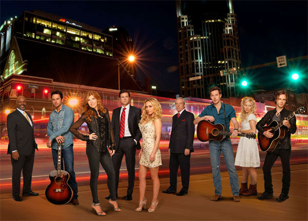 "<div class=""meta ""><span class=""caption-text "">The new country music drama 'Nashville,' which stars Connie Britton and Hayden Panettiere, will premiere on October 10, 2012 and will air on Wednesdays from 10 to 11 p.m. (ABC Photo / Craig Sjodin)</span></div>"