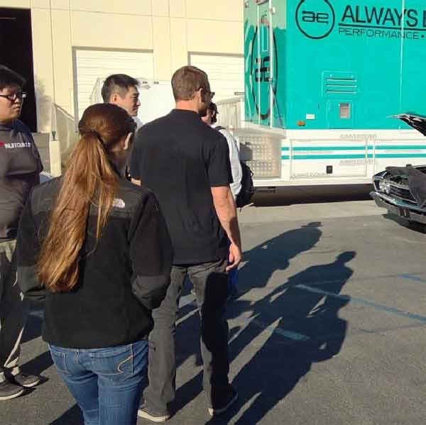 Actor Paul Walker attends an automotive gathering and toy drive, hosted by Autocon and Purist Group, in Valencia Saturday, Nov. 30, 2013. Walker and his friend, Roger Rodas, died in a single-vehicle crash following the event.