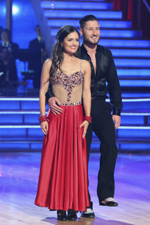 Actress Danica McKellar and partner Valentin Chmerkovskiy dance the Foxtrot  on the season premiere of &#39;Dancing With The Stars&#39; on Monday, March 17, 2014. They received 24 out of 30 points from the judges. <span class=meta>(ABC Photo&#47; Adam Taylor)</span>