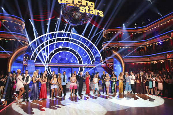 The cast of &#39;Dancing With The Stars&#39; Season 18 on the premiere, Monday, March 17, 2014. <span class=meta>(ABC Photo&#47; Adam Taylor)</span>