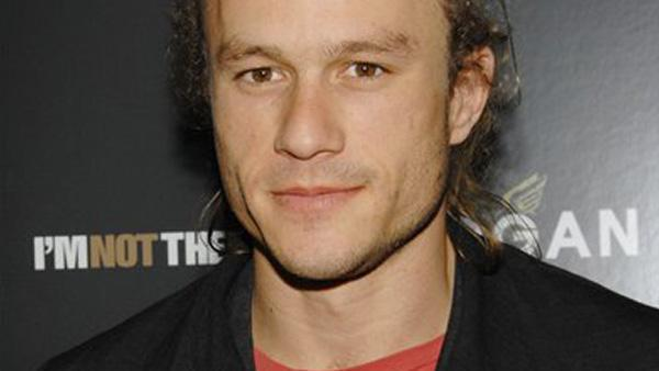 Actor Heath Ledger in New York.