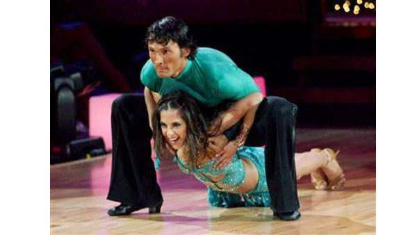Model Kelly Monaco and partner Alec Mazo won the coveted mirror-ball trophy in Season 1 of 'Dancing With the Stars.'