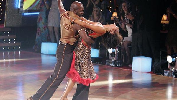 NFL star Emmitt Smith and partner Cheryl Burke won the coveted mirror-ball trophy in Season 3 of 'Dancing With the Stars.'