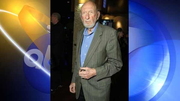 Director Irvin Kershner is seen in this photo dated Oct. 6, 2008. Kershner's agent said the director died on the weekend of Nov. 27-28.