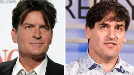 Billionaire Mark Cuban said Sunday he is in talks with Charlie Sheen about developing a new show for his cable network.