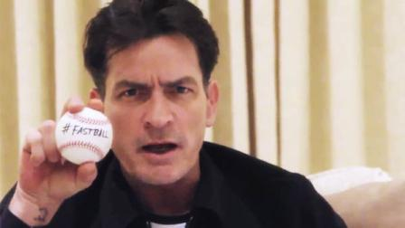 Charlie Sheen in a photo posted on his official page from March 1, 2011.